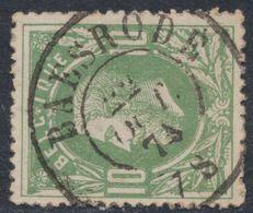 """émission 1869 - N°30 Obl Double Cercle """"Baesrode"""" (1874). Superbe COBA : 15 / Collection Spécialisée - 1869-1883 Leopold II"""