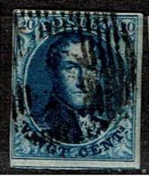 4  Obl  4 Marges  70 - 1849-1850 Medallions (3/5)