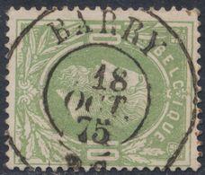 """émission 1869 - N°30 Obl Double Cercle """"Barry"""" (1875). Superbe COBA : 12 / Collection Spécialisée - 1869-1883 Leopold II."""