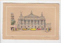 """Cartophilie / éditeur Barré Dayez / Barday / Paris L'opéra / Cachet 1943 / Flamme """"enveloppe Retournée ..."""" - Cartes Postales"""