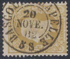 """émission 1869 - N°32 Obl Double Cercle """"Bascoup-Chapelle"""" (1882) TB COBA : 12 / Collection Spécialisée - 1869-1883 Leopold II."""