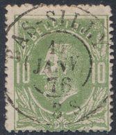 "émission 1869 - N°30 Obl Double Cercle ""Bas-Silly"" (1876). Superbe ! COBA : 15 / Collection Spécialisée - 1869-1883 Leopold II."