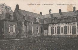 62--RIVIERE--CHATEAU DE GROSVILLE--VOIR SCANNER - Andere Gemeenten