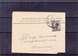 Belgique - Bande Pour Journeaux De 1935 - Oblit Montzen - Exp Vers Hemixem - Léopold III - Chemin De Fer -valeur 22,50 € - Belgium