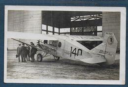 Avion - Carte Photo  - Format Cpa - 1919-1938: Fra Le Due Guerre