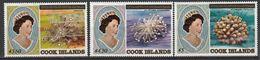 COOK -  N°793/5 ** (1984) Série Courante : Elizabeth II Et Coraux. - Cook