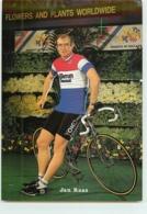 Jan RAAS. 2 Scans. Cyclisme. Kwantum Decosol 1985 - Radsport