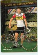 Cees PRIEM . 2 Scans. Cyclisme. Kwantum Decosol 1985 - Radsport