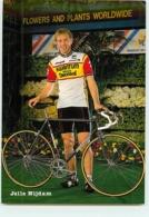 Jelle NIJDAM . 2 Scans. Cyclisme. Kwantum Decosol 1985 - Radsport