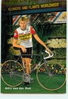 Adri VAN DER POEL . 2 Scans. Cyclisme. Kwantum Decosol 1985 - Radsport