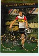 Henri MANDERS . 2 Scans. Cyclisme. Kwantum Decosol 1985 - Radsport