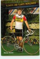 Toine POELS . 2 Scans. Cyclisme. Kwantum Decosol 1985 - Radsport