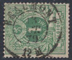 """émission 1869 - N°26 Obl Double Cercle """"Beaumont"""" (1879). Aminci / Collection Spécialisée - 1869-1883 Leopold II"""
