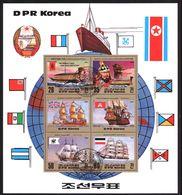 North Korea Block 145 Used (1983) - Corée Du Nord