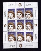 MACEDOINE 1996 - TIMBRE N°91/92 - FEUILLE NEUVE - EUROPA  - FEMMES CELEBRES - Macédoine