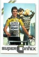 Jacques HANEGRAAF . 2 Scans. Cyclisme. Super Confex Yoko - Cyclisme