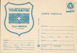 SCIENCE, PHYSICS, CLUJ NAPOCA TENSOMETRY SYMPOSIUM, POSTCARD STATIONERY, 1980, ROMANIA - Physics