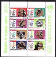 North Korea Block 2052 T/m 2059 Sheet Used (1980) - Corée Du Nord