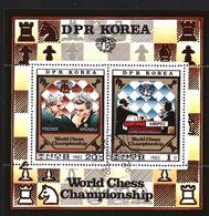 North Korea Block 2074 & 2075 Sheet Used (1981) - Corée Du Nord