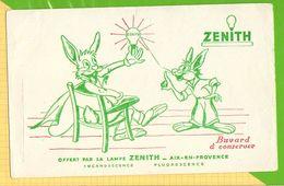 Buvard & Blotting Paper :  Lampe ZENITH Lapin - Electricité & Gaz