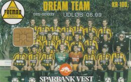 Denmark, DD 176a, Aarhus Fremad Football Team, Only 2700 Issued, 2 Scans.   06.99 - Danemark