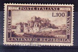 ITALIE YT  537  OBL (CANCEL.). (7C206) - 1946-.. République