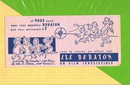 Buvard & Blotting Paper : Les DURATON - Cinéma & Theatre