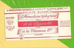 Buvard & Blotting Paper : Pharmacie Hematoporphyrine Vitamine B12 - Drogisterij En Apotheek