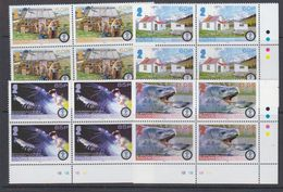 South Georga & South Sandwich Islands 2008 International Polar Year 4v Bl Of 4 (corner)  ** Mnh (48478A) - Géorgie Du Sud