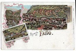 Ricordo Di FAIDO (Suisse) H.G. & Cie 1707, Dos Simple - TI Tessin