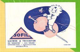 Buvard & Blotting Paper : Laine A Tricoter SOFIL - Vestiario & Tessile