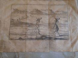 D172583   Gravure Militaire -Roman Empire -Les Soldats Romains Figure De La Colonne De Trajan - K.Theophil Guichard 1773 - Maps