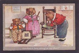 CPA KENNEDY Ours Bear Position Humaine Circulé - Bears