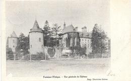 Fontaine-l'Evêque NA86: Vue Générale Du Château 1903 - Fontaine-l'Evêque