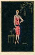 Illustrateur  Illustrator Max Ninoy Art Deco - Künstlerkarten