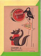 Protege Cahier :Pastilles PULMOLL  Fable De La Fontaine Renard Et Le Corbeau - Protège-cahiers
