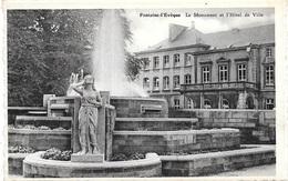 Fontaine-l'Evêque NA87: Le Monument Et L'Hôtel De Ville - Fontaine-l'Evêque