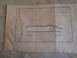D172585 Old Military Map -Carte Militaire -Roman Empire -Ordre De La Bataille D'AMILCAR - - K.Theophil Guichard 1773 - Maps