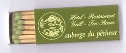 Luciferdoosje - Pub Reclame - Auberge Du Pecheur - Sint Martens Latem - Boites D'allumettes