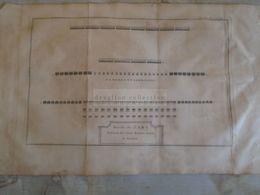 D172586 Old Military Map -Carte Militaire -Roman Empire - Bataille De ZAMA  - K.Theophil Guichard 1773 - Maps