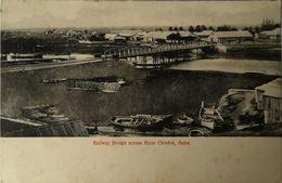 Mozambique //Beira - Railway Bridge Across River Chiveve Ca 1900 Rare - Mozambique