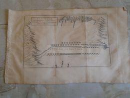 D172587 Old Military Map -Carte Militaire -Roman Empire - Bataille Philipoemen -Machanidas T  - K.Theophil Guichard 1773 - Maps