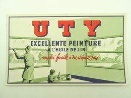 BUVARD UTY EXCELLENTE PEINTURE A L'HUILE DE LIN - Peintures