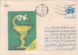 HEALTH, PHARMACY, NATIONAL CONGRESS, COVERSTATIONERY, 1994, ROMANIA - Farmacia