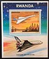 Rwanda 1978 Yvertn°  Bloc 80 *** MNH Cote 6,00 Euro Aviation Concorde - Ruanda
