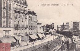FRANCE 1906  CARTE POSTALE DE BECON LES BRUYERES AVENUE CHEVREUL - Sonstige Gemeinden