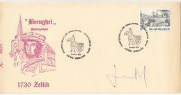 BELGIQUE TIMBRE N° 1831 OBLITERATION 1er JOUR SUR LETTRE DU POSTZEGELKLUB  DE ZELLIK - Belgium