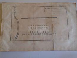 D172591 Old Military Map -Carte Militaire-Roman Empire- Marche Et Evolution D'Amilcar -K.Theophil Guichard 1773 - Maps