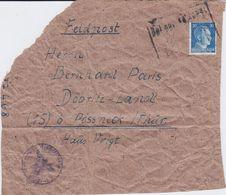DR Hilter Mi 791 Päckchen Adr Deutsche Feldpost 2 Weltkrieg Ca 1942 - Briefe U. Dokumente
