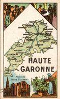 CHROMO  VERMI BONBONS BERGER Dept De La Haute Garonne - Süsswaren
